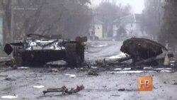 Жители Украины в ожидании мира