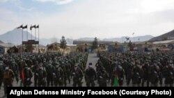 نیروهای تازه فارغ شده کماندو