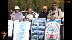 Митинг оппозиции в Астане