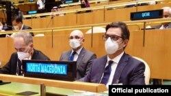 Њујорк-претседателот Стево Пендаровски на Генералното собрание на Обединетите нации