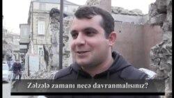 Sorğu: Zəlzələ zamanı necə davranmalısınız?