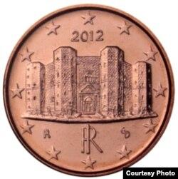 Итальянский цент с Кастель дель Монте