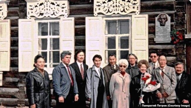 Открытие мемориальной доски в честь столетия Адама Скрябина