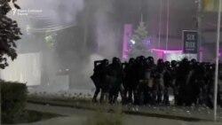 Судири меѓу полицијата и демонстрантите по спорните избори во Киргистан