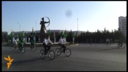 """Türkmenistan """"tigir üstünde"""""""