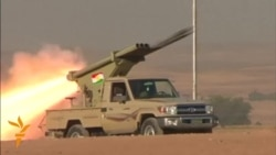 Kurdish Fighters Clash With ISIL Militants In Kirkuk