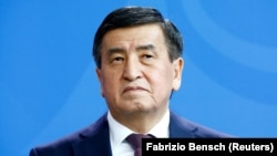 Sooronbai Jeenbekov has resigned as the president of Kyrgyzstan