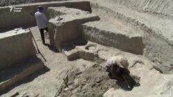 Архиологическая находка времен Кушанидов в Таджикистане