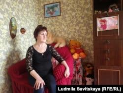 Любовь Грипиняк, мать погибшей Марии Марцинкевич