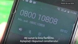 Asistenţă telefonică pe vreme de pandemie
