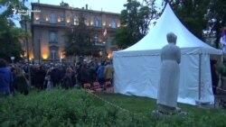 Protest u Beogradu: Formiranje 'Slobodne zone'