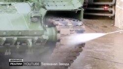 Російські танки штурмували українських військових на Донбасі