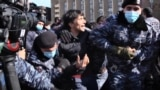 Armenian Opposition Protesters Detained In Yerevan