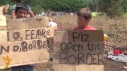 Serbi: Migrantët shpallin grevë urie