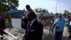 У США поховали Джорджа Флойда – відеорепортаж