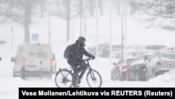 Snijeg u Helsinkiju