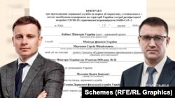 Член комісії, міністр фінансів Сергій Марченко підписував контракт з кандидатом Мельником на посаду голови Державної фіскальної служби наприкінці 2020- року