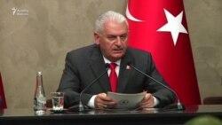 """Binali Yıldırım:""""Almaniya ilə münasibətlər zədələndi"""""""