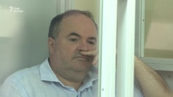 Як суд заарештовував підозрюваного в організації вбивства Бабченка (відео)