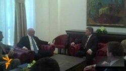 Филип Рикер во посета на Македонија