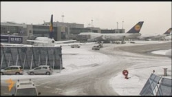 Snowstorms Leave European Travelers Stranded