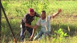 Bekstvo migranta iz kampa u Mađarskoj