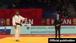 Комроншоҳ Устопириён, варзишгари тоҷик