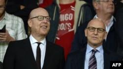 """Джоэл и Аврам Глейзеры, совладельцы """"Манчестер Юнайтед"""""""