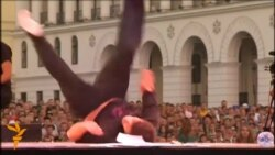 Ukraine Hosts International Break-Dancing Competition