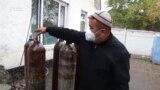 Коронавирус: Жалал-Абадда кычкылтек баллондору тартыш