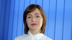 """Maia Sandu: """"Se spune că socialiștii ar cheltui două milioane de euro pentru a cumpăra voturi pentru Dodon din Transnistria"""""""