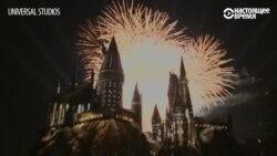 """В Лос-Анджелесе открылся """"Волшебный мир Гарри Поттера"""""""