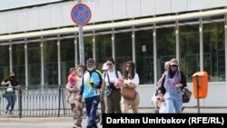 Нур-Султан во время пандемии. 4 августа 2020 года.