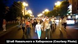 Хабаровскидеги Фургалды колдогон митинг, 12-июль, 2020