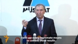 Azerbaijani Opposition To Contest Election Result