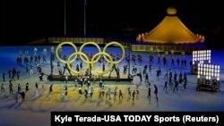Открытие Олимпийских игр в Токио, 23 июля 2021 г.