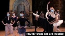 Balettpróba a nizzai Operaházban