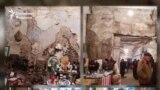 Самая крупная барахолка в Узбекистане находится в плачевном состоянии