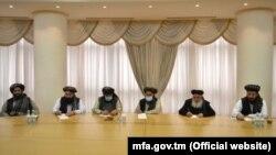 هیئت گروه طالبان در ترکمنستان