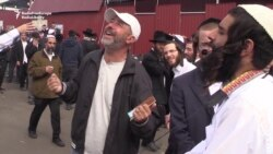 Hasidic Pilgrims Celebrate Jewish New Year in Uman