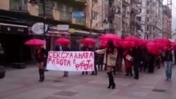 Makedoniyada seks işçiləri etiraz aksiyası keçirir