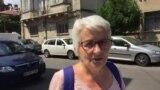 O protestatară depune plângere la Parchetul Militar