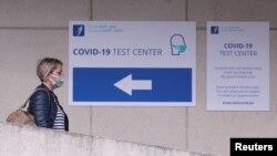 Belgia, centru pentru testarea Covid