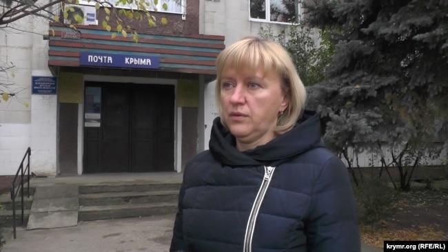 Світлана Федорцова, підконтрольна Росії голова адміністрації Зеленогірської сільської ради
