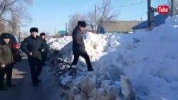 Видео Азаттық Лайфқа Б.Сапарбаев