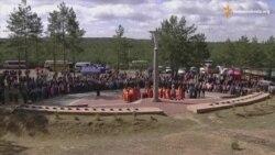 Рівняни вшанували пам'ять повстанців, загиблих у Гурбинському бою