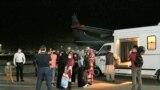 Казакстан Ооганстандан 35 этникалык казакты учак менен эвакуациялаган, Алматы аэропорту. 9-сентябрь, 2021-жыл.