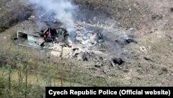 После взрывов боеприпасов в Врбетице. Архивное фото