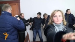 Напад на журналістаў у судзе ў Менску