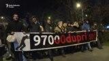 Novi zahtjev demonstranata u Podgorici: Ostavke uprave RTCG-a